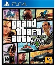 Grand Theft Auto V GTA 5 Ps4 Game English Portuguese Spanish French