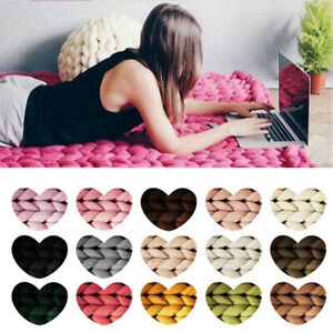250g Chunky Wool Yarn Super Soft Bulky Arm Knitting Wool Roving DIY Crocheting