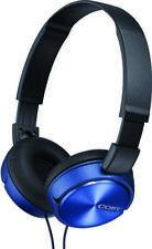 Coby Cvh-825-Bl Blue Stero Coby Headphones W/ Buil Headphone