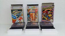 """Nintendo Entertainment System jeux """"California, Marble & BOULDER DASH""""/NES"""