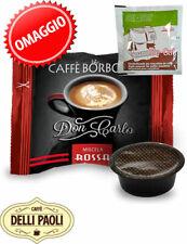 Caffè Borbone Don rossa Carlo RED box 200 capsule compatibili A Modo Mio +1 Axor