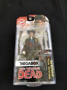 Walking Dead Sheriff Rick Grimes Skybound Megabox McFarlane Bloody Figure TWD