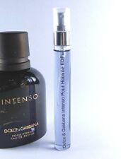 Dolce & Gabbana Intenso Pour Homme Eau de Parfum 10ml Glass Spray EDP SAMPLE