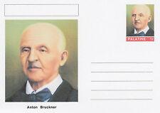 CINDERELLA - 4575 - Anton BRUCKNER  on Fantasy Postal Stationery card