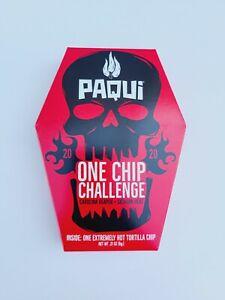 Paqui One Chip Challenge Tortilla Chip Carolina Reaper Madness  2020 Edition NEW