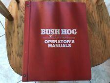 New Listingoriginal Bush Hog Operator Parts Catalog Manual Land Maintenance Preparation