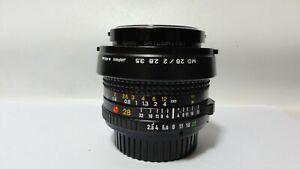 Minolta 28mm f/2.8 MD Manual Focus w/Hoya Sky1a/Factory Hood/Caps.