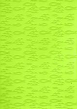 Prägefolder Embossing-Schablone Prägeschablone Fische christlich efco 4254059