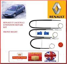 ELECTRIC WINDOW REGULATOR REPAIR KIT FRONT RIGHT FOR RENAULT LAGUNA 2 II