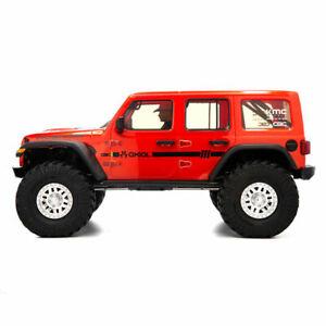 Axial Racing SCX10III Jeep JLU Wrangler w/Portals Orange 1/10 RTR 4WD RTR