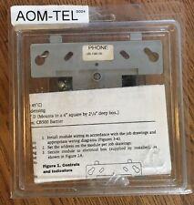 Fci Aom-Tel Firephone Control Module Fire Alarm