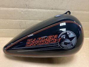 Harley Davidson FXSTC Softail Custom 92-94 Fuel Tank Right Black 61221-92VD