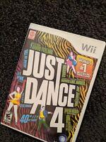 Just Dance 4 (Nintendo Wii, 2012)