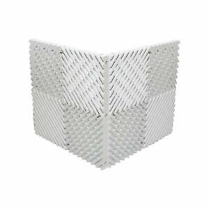 Ready Covers Radiator Cover Heating Cabinet (WHITE - 30 Tiles, 150 Pegs)