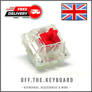 Cherry MX Red RGB Linear Switch Mechanical Keyboard Switch Replacement Lot