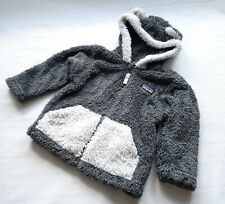 Patagonia Baby 12-18m Furry Friend Hoody Gray