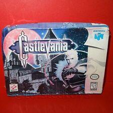Vintage 1996 NINTENDO 64 N64 Castlevania Video Juego de cartucho Sellado de versión USA