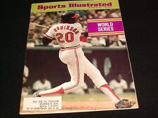SPORTS ILLUSTRATED <>  OCTOBER  18 , 1971<> WORLD SERIES   °