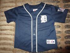 Justin Verlander #35 Detroit Tigers MLB Majestic Jersey Toddler 4T