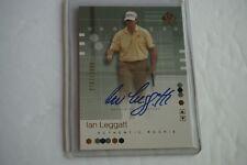 2002 SP Authentic Golf IAN LEGGATT Autographed Rookie Card 92 - /2999