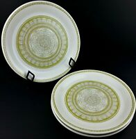 Franciscan Earthenware Dinner Plate Lot 3 Hacienda Green USA Discontinued Oven