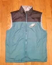 Philadelphia Eagles NFL Reversible Winter Bubble Vest Men's Size MEDIUM