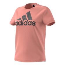 Adidas FOIL Text Bos Maglietta Donna Rosa S (g0q)