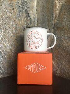 POLER CampVibes Slumber Enameled mug 13 Oz Drink Hot or Cold Camping Mug NEW