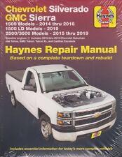 2014-2019 Silverado Sierra Tahoe Yukon Haynes Repair Service Shop Manual 3505