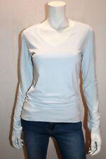 COTTON ON Brand Light Blue Long Sleeve V Neck Top Size S BNWT #SM46