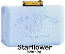 Pre de Provence STARFLOWER 250 Gram French Soap Bath Shower Bar Shea Butter XL