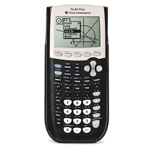 Texas Instruments TI84 Plus Graphics Calculator Fast and Free delivery