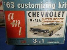 AMT '63 CHEVROLET IMPALA SS CONVERTIBLE 3 IN 1   ORIGINAL ISSUE --- BOX ONLY