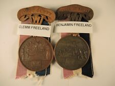 West Virginia Civil war for liberty & killed in battle medals to brothers