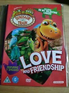 DINOSAUR TRAIN.. LOVE AND FRENDSHIP... DVD U