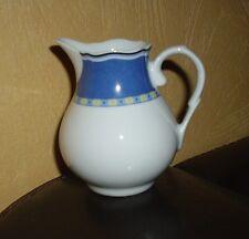 TCM 1 Milchkännchen blau-gelbes Dekor