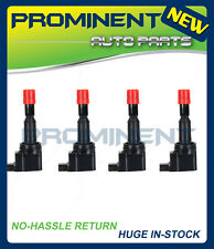 SET OF 4 NEW IGNITION COIL FOR 2007 2008 Honda Fit 1.5L 30520PWC003 UF-581 C1578