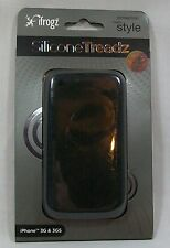 iFrogz Silicone Treadz Case Black iPhone 3G/3GS *New
