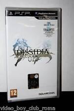 FINAL FANTASY DISSIDIA 012 DUODECIM GIOCO NUOVO SONY PSP EDIZIONE ITA FR1 32116