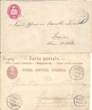 Switzerland 1881-1931 - 8 Old Covers and Postcards (4 scans)