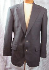 Ralph Lauren POLO UNIVERSITY CLUB Charcoal Honeycomb 2 Btn Sport Coat Jacket 44