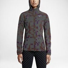 Nike Shield Flash Max Running Jacket 3M Reflective ~ 686977 011 ~ Size Medium
