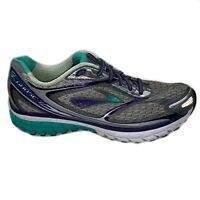 Brooks Womens Ghost 7 G7 Gray Light Running Shoes Sneakers Size 10 M