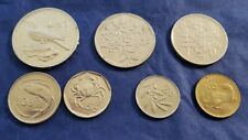 Malta Coins, Seven in total. Various denominations. Great for crafting