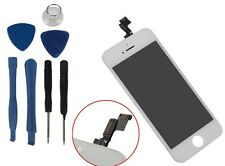iPhone 5S White Replacement Digitizer LCD Touch Screen Display Assembly+Tool Kit