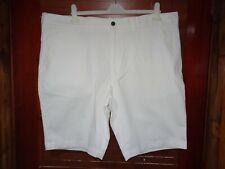 M&S White Chino Summer Shorts *Size 46* BNWT  **RRP £25.00** ACTIVE WAIST!!