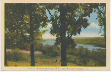 Canada 1930 superb mint col pc Scene on Beautiful Saint John River New Brunswick