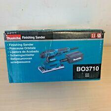 Makita BO3710 1/3 Sheet Orbital Sander 240V + Punch Plate + Dust Bag *NEW*