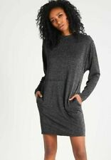 NWT DIESEL Womens D-Cetix-A-R Black Cut out Metallic Thread Shift Dress XS