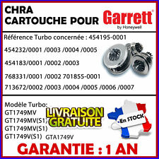 CHRA MELETT turbo cartridge Audi A3 1.9 TDI 110 115 147 CV 454232 GT1749MV /919